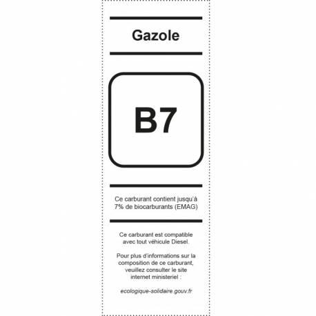 Pictogramme Appareil distribuetur Gazole B7