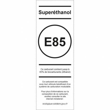 Pictogramme Appareil distribuetur Superéthanol E85