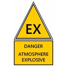 "Pictogramme ""Atmosphère Explosive"" ATEX"