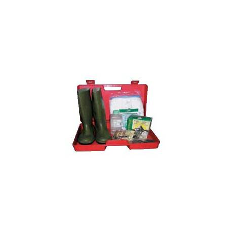 Kit d'intervention ADR 2 - Valise plastique