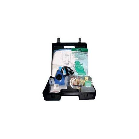 Kit d'intervention ADR 1 - Valise plastique