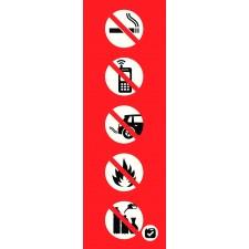"""Pictogramme """"Interdictions pour appareil distributeur"""""""