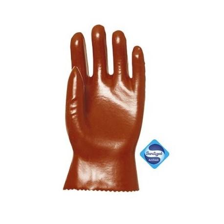 Paire de gants PVC pour hydrocarbures