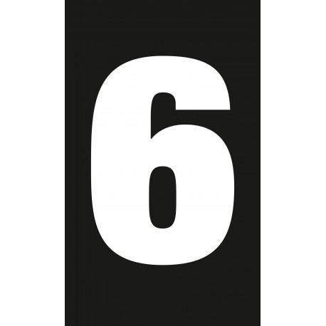 """Pictogramme """"Chiffre 6 / 9"""" NOIR"""