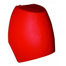 Coiffe pour extincteur rouge