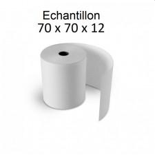 70x70x12 - Pack de 5 rouleaux échantillons pour caisse électrique