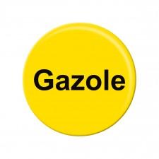 Pastille d'identification pistolet - Gazole