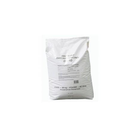 Terre de diatom e sac de 20 kg egedis - Sac glacons 20 kg ...